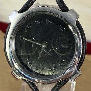 Dolce & Gabbana Accessories - Dolce and Gabbana Silver Tone Watch Watch